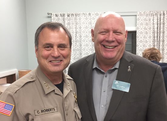 John Ludlow and Sheriff Roberts